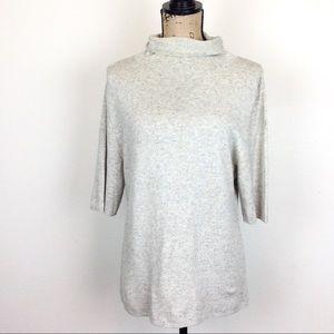Adrienne Vittadini Silk Cashmere Sweater - N529